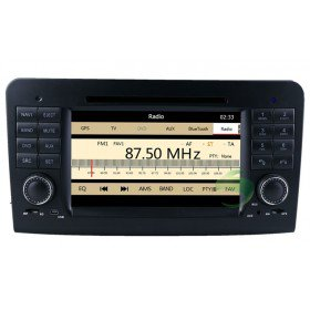 Auto DVD Player GPS Navigationssystem für Mercedes-Benz GL Klasse(X164)(2005 2006 2007 2008 2009 2010 2011 2012)(GL320 GL350 GL420 GL450 GL500)