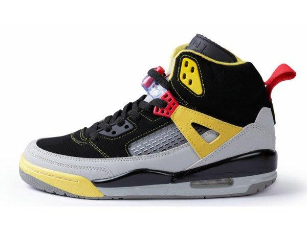 Jordan Spizike Basket_ball Chaussures Pour Homme Noir/Gris/Jaune 315371-050 officiel-Officiel Jordan SIte,Boutique Air Jordan 2013,Livraison Gratuite!