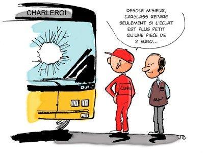 DESSIN DU JOUR - TEC Charleroi - JDblog