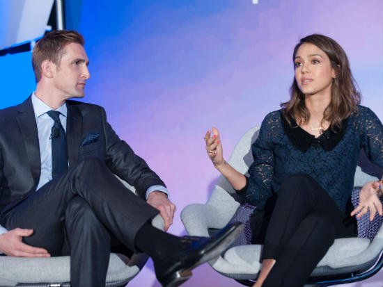 "GreenBiz Forum: Jessica Alba sheds light on her ""honest"" green company"