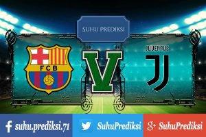 Prediksi Bola Barcelona Vs Juventus 13 September 2017
