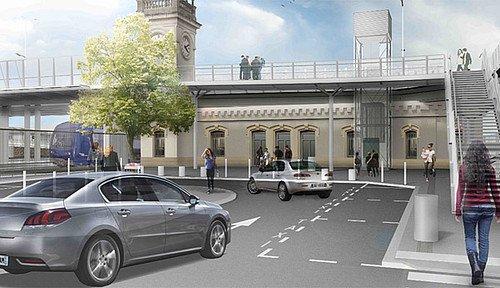 Renouveau pour la gare de Juvisy - Conseil départemental de l'Essonne - CG91