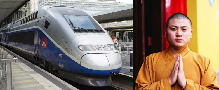 Zen – Des moines bouddhistes pour aider les voyageurs à supporter les enfants qui pleurent dans les trains