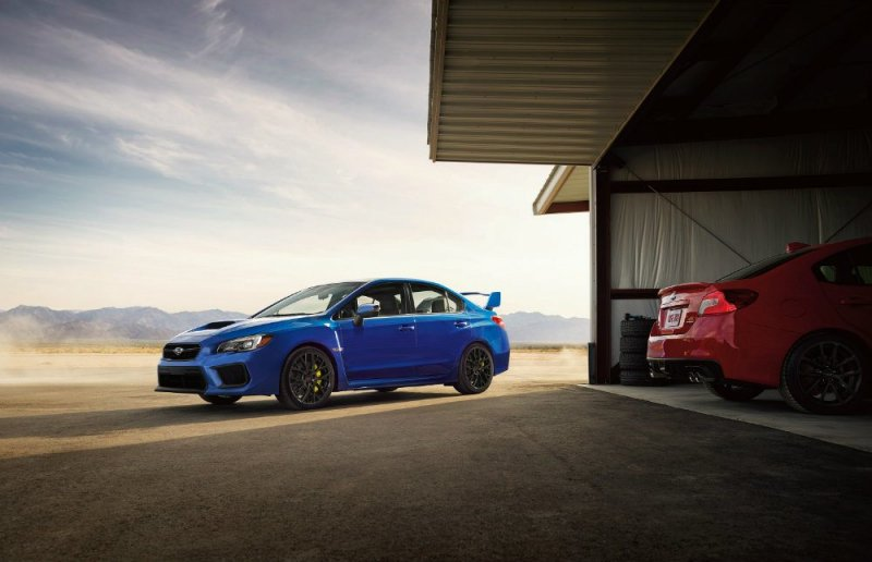 The 2018 Subaru WRX and WRX STI on their way to the U.S. market