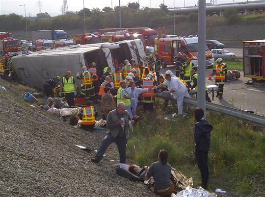 Faits divers | Dramatique accident d'un car polonais sur l'A36, 2 morts et de nombreux blessés - Le Journal de Saône et Loire