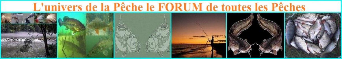 Un FORUM pour tous les passinnés de pêche