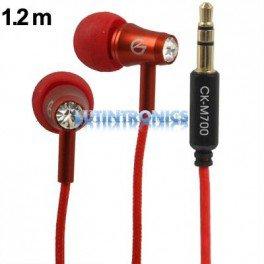 Ecouteurs 3,5 mm stéréo intra auriculaires Diamant haute performance fonction Bass - Lutintronics