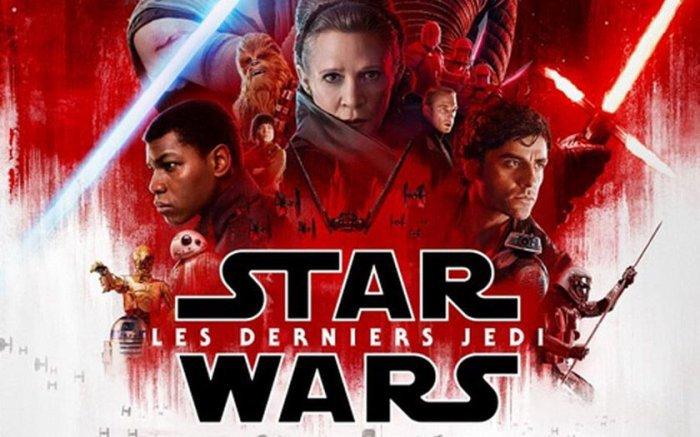 Star Wars, épisode VIII : Les Derniers Jedi. VF.