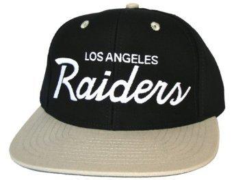 Casquette Neuve Ajustable Officielle NFL - Los Angeles LA Raiders Snapback - Casquette Noire/Grise: Amazon.fr: Bienvenue