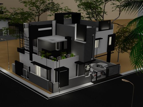"Architecture Design For Indian Homes architectsb's articles tagged ""house plan india"" - architectsb's"