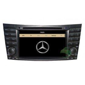 Auto DVD Player GPS Navigationssystem für Mercedes-Benz E-Klasse W211(2002 2003 2004 2005 2006 2007 2008)(E200 E220 E240 E270 E280)