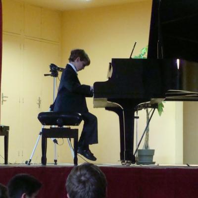 Une audition de piano réussie à Liesse
