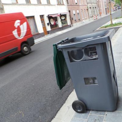 Frasnes-lez-Anvaing: le radar caché dans une poubelle pour mieux piéger les automobilistes