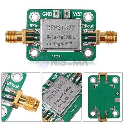 LNA 50-4000MHz SPF5189 RF Amplifier Signal Receiver For FM HF VHF/UHF Ham Radio | eBay