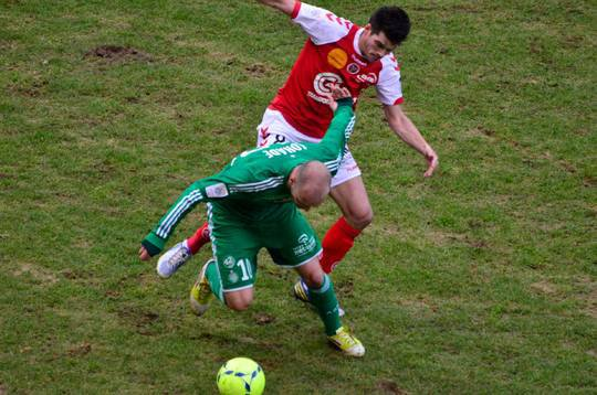 2012 Ligue 1 J26 NICE REIMS, l'avant match, le 22 février 2013