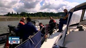 Création d'une brigade de police fluviale à Mons - Vidéo - RTL Vidéos