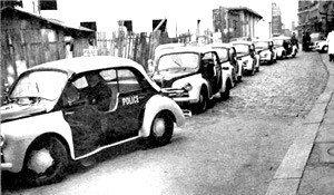 Renault 4CV Police Pie (1953-1956)
