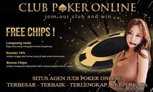 Situs Judi Poker Online Via Uang Asli Elektronik Rupiah IDR