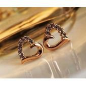 Boucles d'oreilles coeur, diamant, or, femme sur PriceMinister