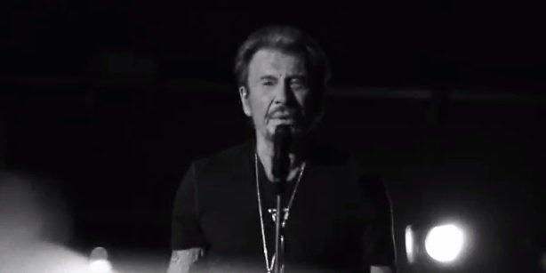 Johnny : découvrez son live inédit de «Te manquer»