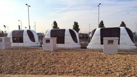 Arms off with Heathrow's independent pod cars | Technology News