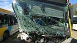 Impressionant accident de bus à Marseille