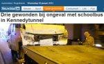 Accident avec un bus scolaire à Anvers: trois blessés