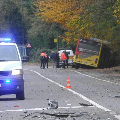 Liège: le héros qui a percuté volontairement le bus dans la côte du Sart-Tilman ne devra rien payer