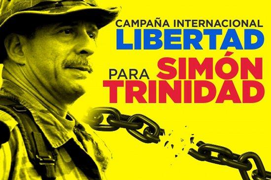 'Es necesaria una campaña mundial por Simón Trinidad como la que liberó a Los Cinco cubanos presos enEEUU'