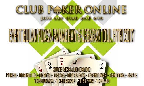 Event Poker Online Bulan Puasa Ramadhan Dan Idul Fitri 2017