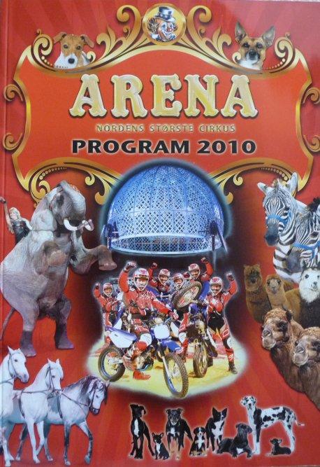 A vendre / On sale / Zu verkaufen / En venta / для продажи :  Programme cirkus ARENA 2010