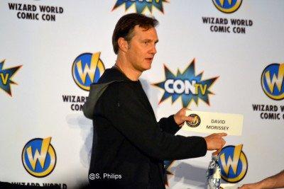 "David Morrissey Talks ""The Walking Dead"" At 2015 Wizard World Comic Con Las Vegas"