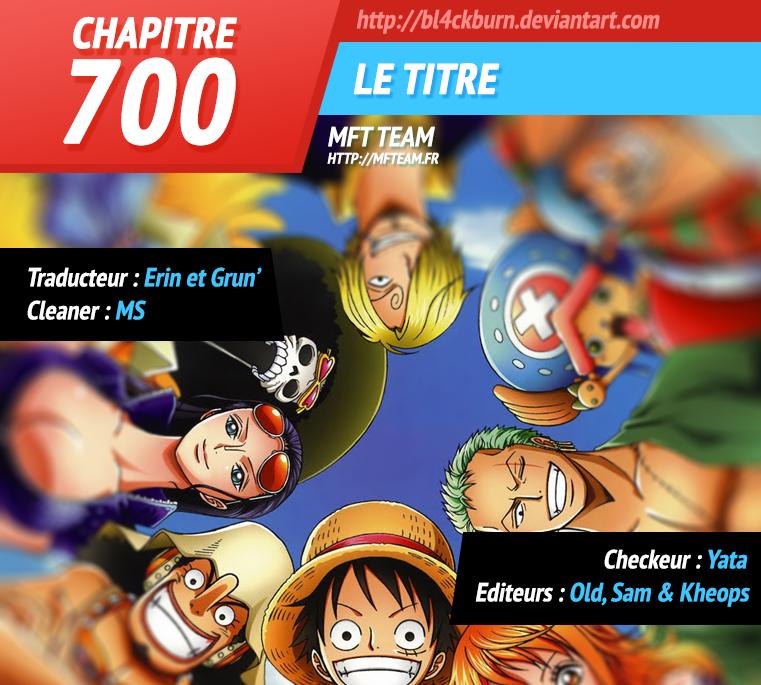 One Piece :: Chapitre 827 :: MFTeam Online