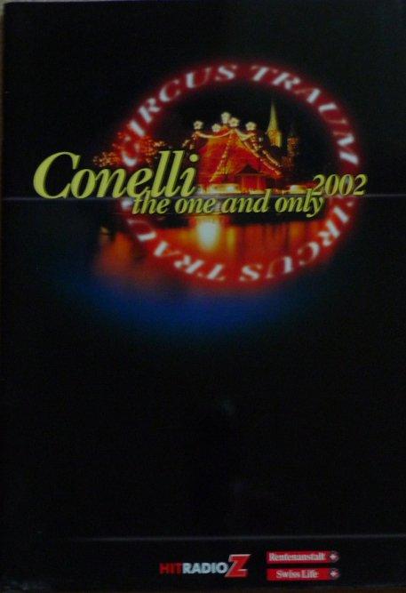 A vendre / On sale / Zu verkaufen / En venta / для продажи :  Programme Circus-Traum CONELLI 2002