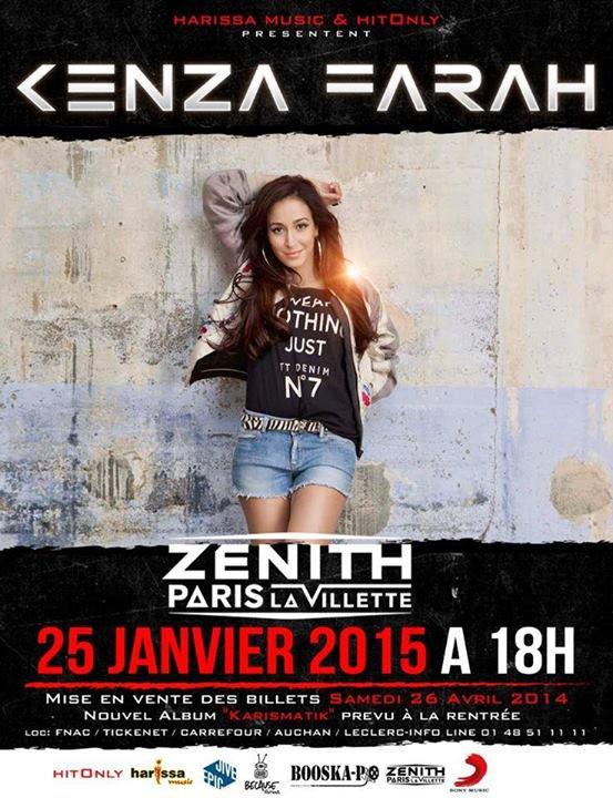 Kenza Farah bientôt au Zenith
