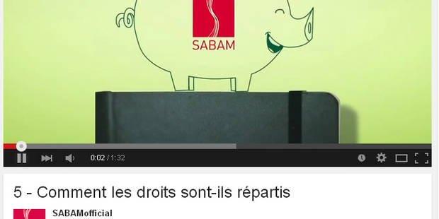 Clips sur Youtube: quand la Sabam s'inquiète d'une pratique... légale