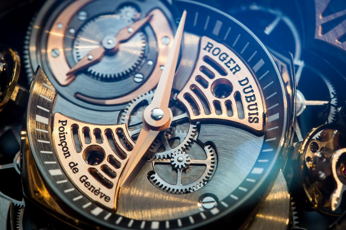 Hands On The Roger Dubuis Excalibur Quatuor 16Hz Watch