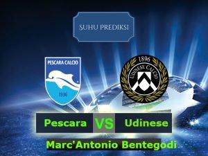 Prediksi Bola Pescara Vs Udinese 12 Maret 2017