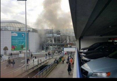 Des explosions à l'aéroport et dans le métro de Bruxelles