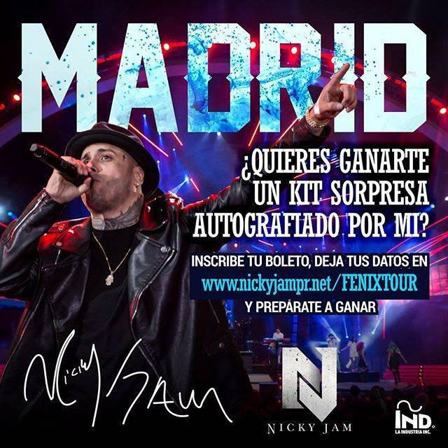 MIAMI NEWS 106: FENIX TOUR EUROPA 2016 MESAJE POR MADRID AVEC MODELS STARS