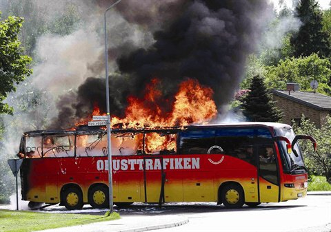 Improving Fire Safety of Buses and Coaches - Article - METRO Magazine