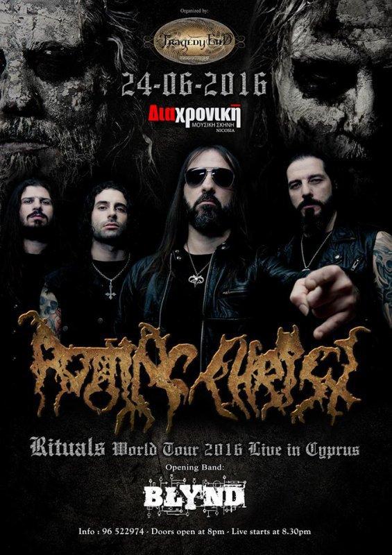 ROTTING CHRIST:Rituals-nouvel album(12/2/16) en écoute intégrale