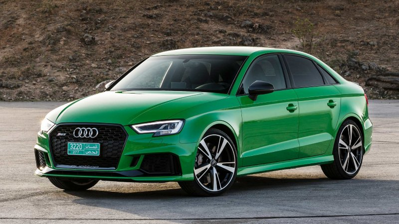 Audi RS3 sedan will cost you more than BMW M2 and Mercedes CLA45 AMG