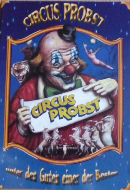 Programme Circus PROBST 2004 - 1