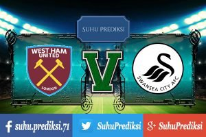 Prediksi Bola West Ham United Vs Swansea City 8 April 2017