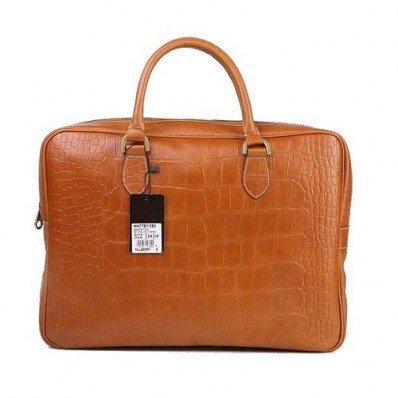 Stylish Mulberry Tony Briefcase Printed Leather Oak With Discount Up To 50%