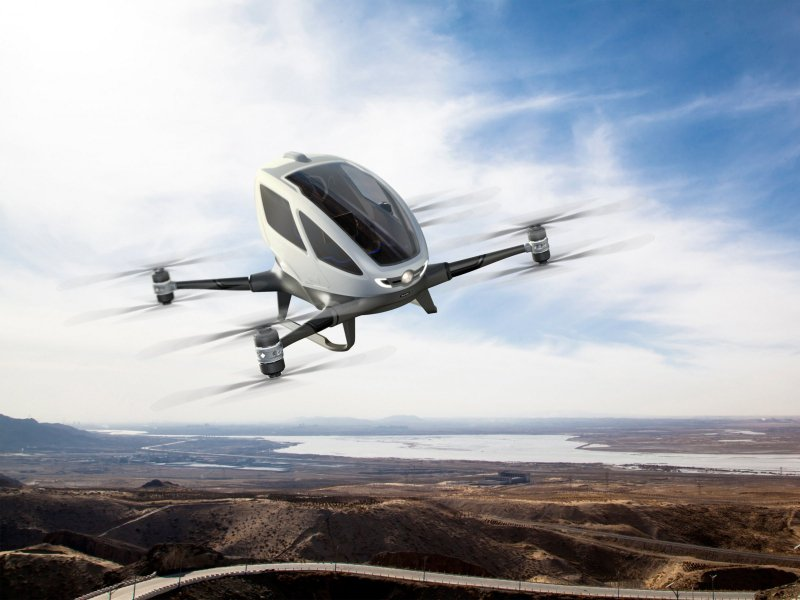 Tired of road traffic? No problem, take an Uber flying taxi!