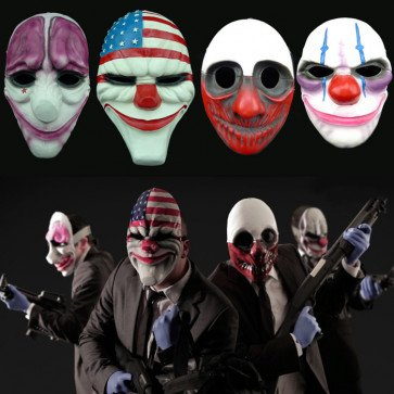 The Robbers Mask | The Robbers Cosplay Mask | Payday 2 Mask | The Robbers Mask for sale
