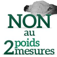 Soutien à Nicolas : NON au 2 poids, 2 mesures !
