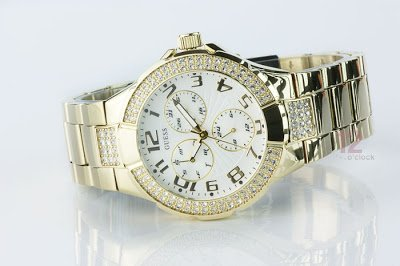 Guess G13537L Gold Prism Ladies Watch | The Best Items
